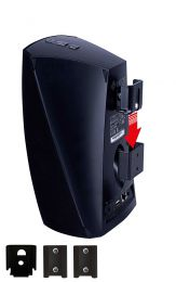 Vebos portable muurbeugel Denon Heos 3 zwart